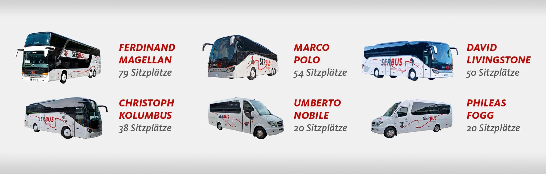 Reisebusse Flotte 2