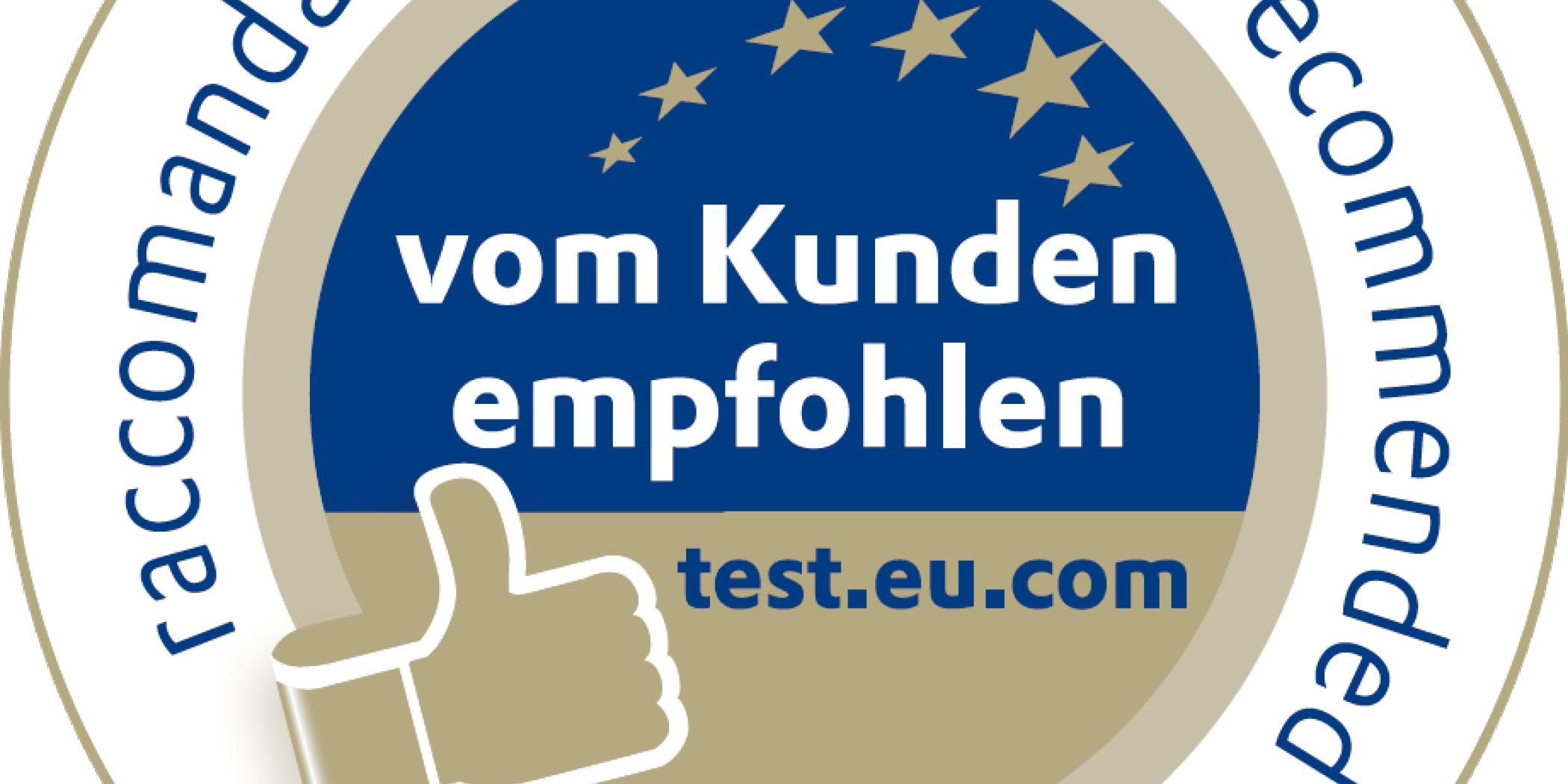 Emblem Dreisprachig Transparent